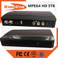 digital cable set top box price for DVB-C MPEG4 MPEG2 HD/SD STB running kingvon CAS