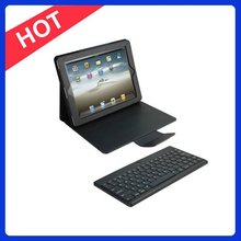 Detachable Bluetooth Keyboard Leather Case for IPad3,Bluetooth Keyboard for New IPad