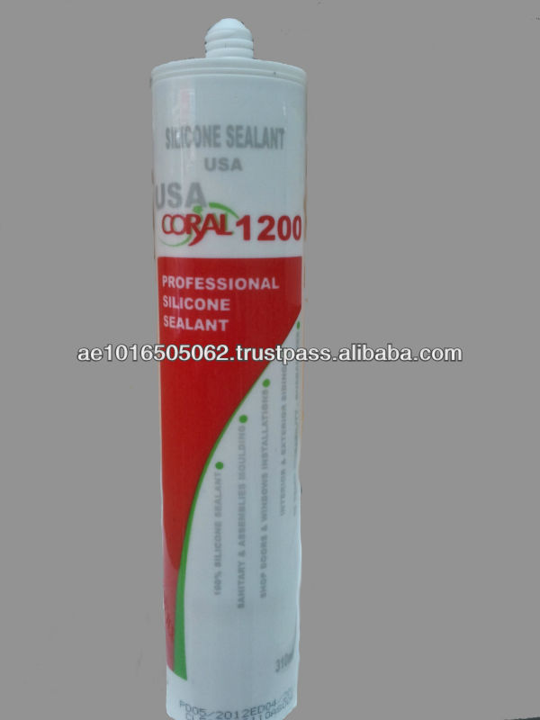 Silicone Sealants CORAL 1200