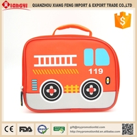 Trending hot products car design silicone kids picnic lunch bag