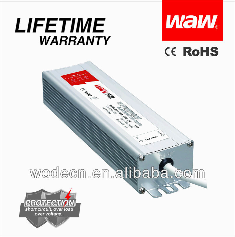 ip67 12v 150w AC DC waterproof led driver