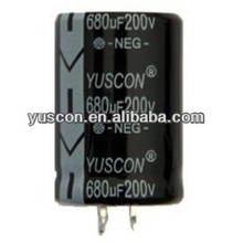 high capacitor low voltage electrolytic capacitor