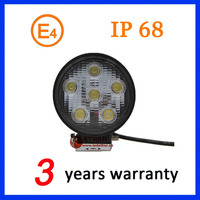 IP6K9K round 18W LED Work light