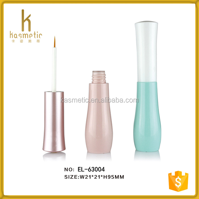 Hot sale empty nude eye liner tube for cosmetic