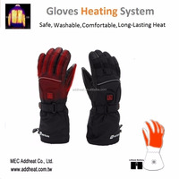 New Heating Technology Temperature Controlled Battery Heated Pad for Gloves