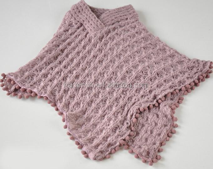 Personalizar Diseño Suéter Para Niña Mano Suéteres De Punto Poncho , Buy  Product on Alibaba.com