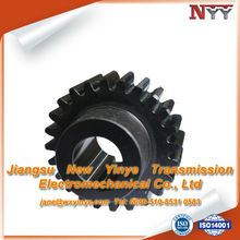 Carburizing small number of teeth gear
