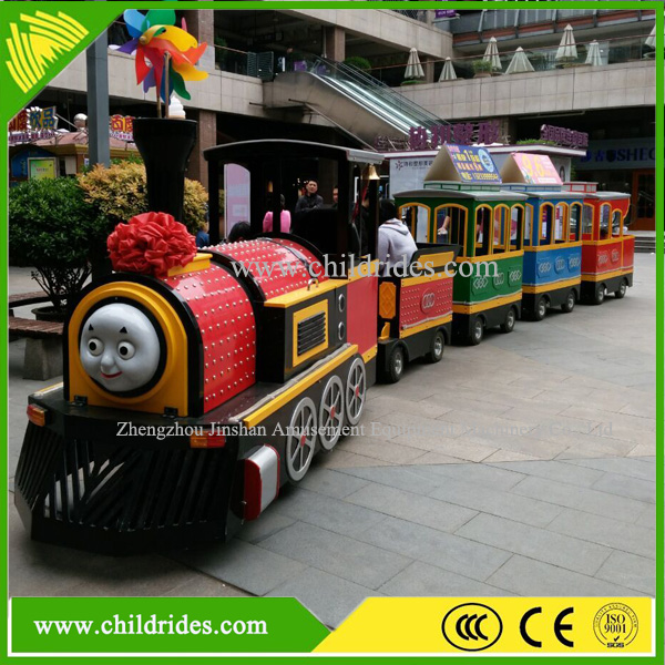Indoor mini kids amusement trackless train ride for sale