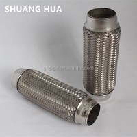 Auto stainless steel 304 exhaust flexible pipe, bellows