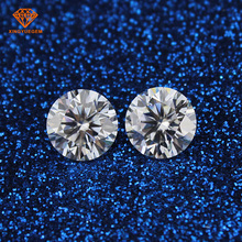 China wholesale synthetic diamond round cut moissanite price per carat