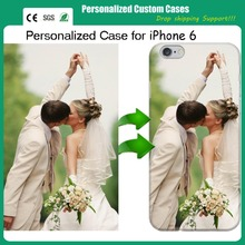 MOQ=1 DIY personalised customized printing mobile phone case for iphone 6 drop shipping