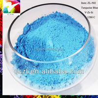 Ceramic pigment color powder painting inorganic pigment glaze stain Turquoise Blue for ceramic industry china supplier