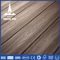 Natural-looking, Low-mantanence, non-rotting WPC decking boards