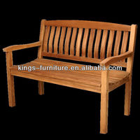Outdoor teak park bench seats wooden outdoor benches KF-OD1204