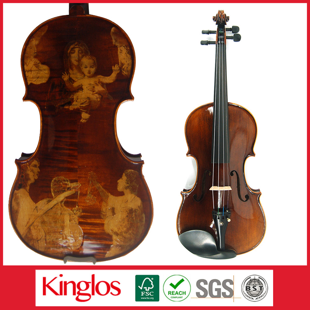 High Quality Violin Stringed Instrument (GDJ-4005)