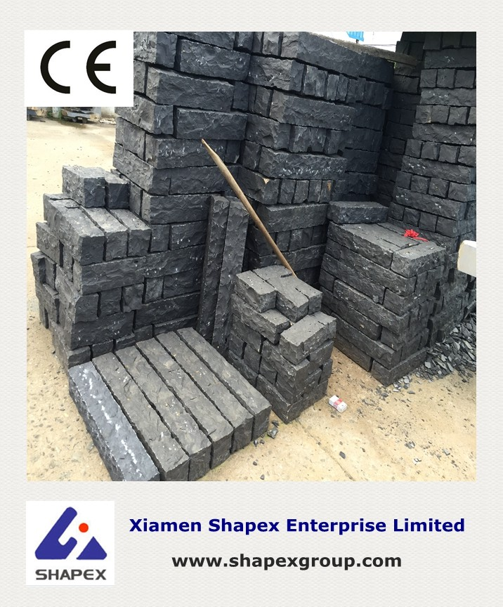 Black granite stone with good price on sale