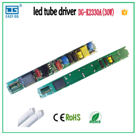 K2330 Factory Direct Wholesale non-isolated open frame 18-30W 350-390ma constant current led power driver CE&EMC t8 t10 tube