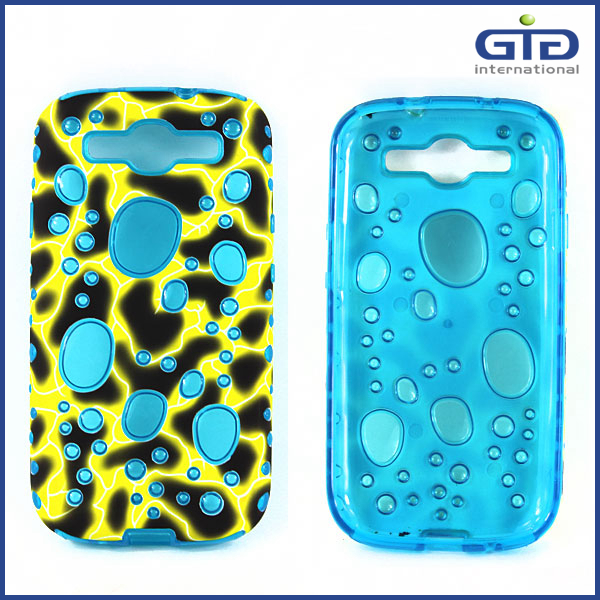 Drop Pattern Protective Case For Samsung For Galaxy S3 I9300