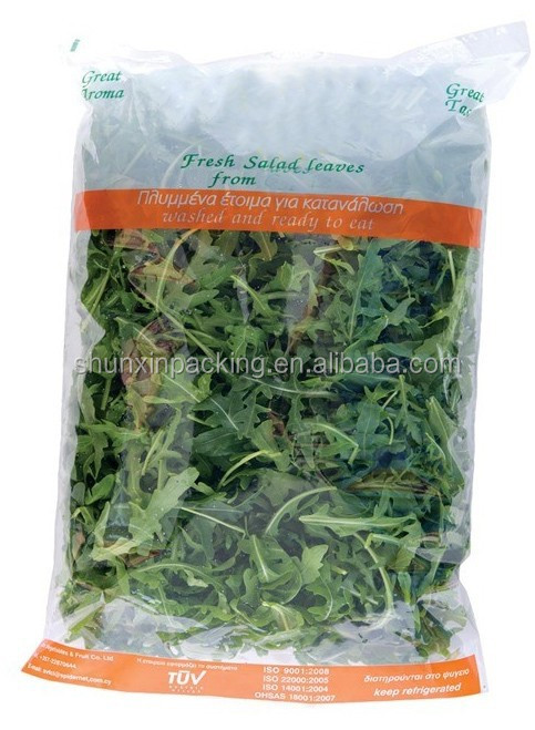 washed and ready to eat salad fresh vegetable Packaging Bag