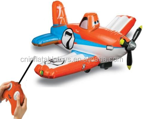 Factory JUMBO RC PLANES DUSTY CROPHOPPER RADIO REMOTE CONTROLLED INFLATABLE TOY