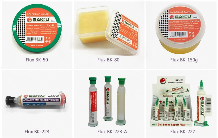 BAKU ba227 wholesale high quality machine repair cell phone welding solder rosin liquid flux for circuit board
