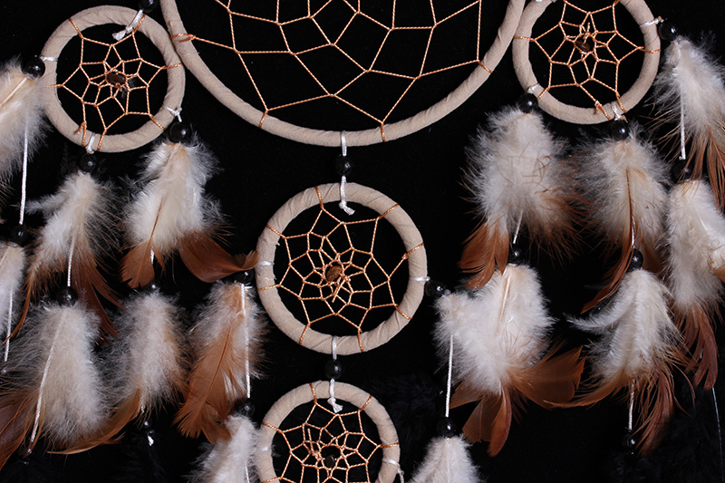 Wall hanging Decoration natural Dream Catcher MS8055