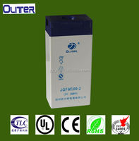 Goot cost performance 2v 100ah ups gel battery for telecom system