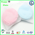 wholesale Happy flute bamboo nursing pad washable women breast pads 3 layers