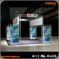 China Indoor Outdoor Panel Truss Exhibition Booth - Trade Assurance Supplier