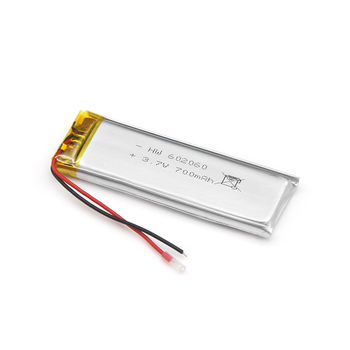 Factory Supplier small 3.7V 700mAh Li-polymer 602060 Battery