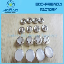 Four Part Prong Metal Snap Button Pearl Snap Button