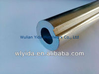Galvanized Hollow shaft 1'' with keyway in 7.0 mm for industrial door