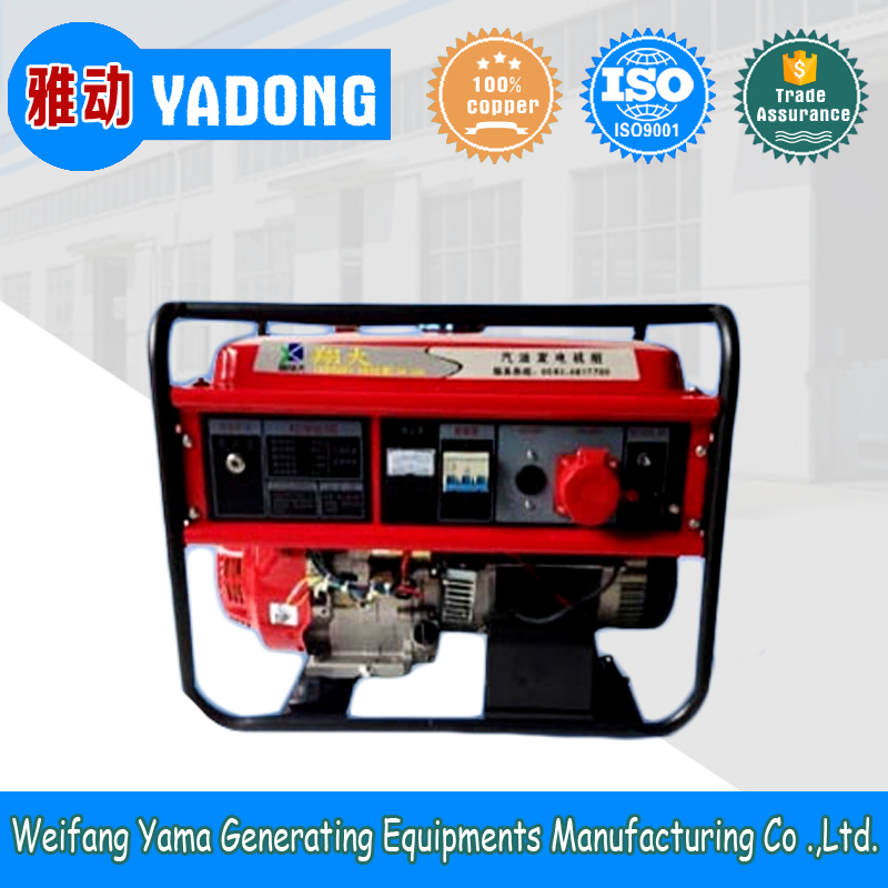 8kw portable AC 3 phase gasoline engine generator reliable quality low price