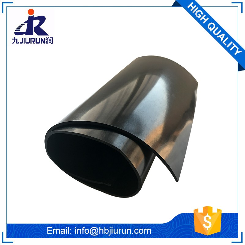 Hot sale Abrasion-resistant reclaimed synthetic sbr rubber sheet