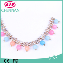 Rainbow crystal rhinestone cup chain roll wholesale high quality accessory rhinestone cup chain