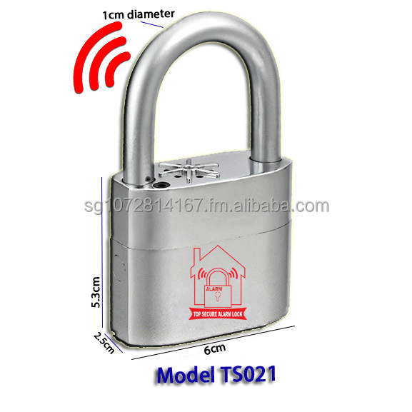 Alarm Padlock with brand of Top Secure Alarm Lock