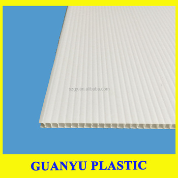 Hollow PP Sheet for Aluminum composite panel