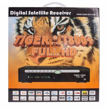 1080P Full HD DVB S2 Digital Satellite Receiver Tiger T800 Receiver