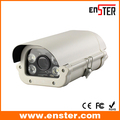 2 Megapixel 1080P Vehicle CCTV License Plate Capture LPR IP Cameras With 6-22Mm Varifocal Lens