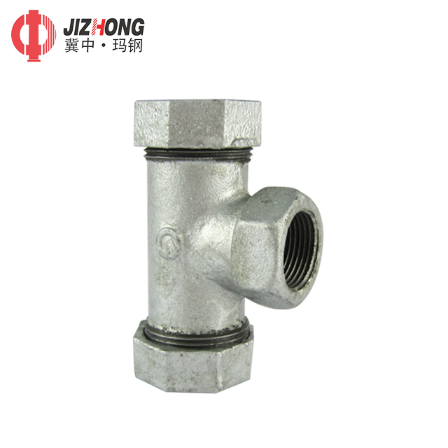 """1//2/"""" Tee 3 way Female Stainless Steel 304 Threaded Pipe Fitting BSPT Hot"""