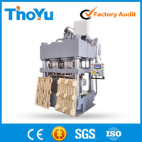 Strong Standard Thoyu Press Wooden Pallet Machine/Pallet Making Line (SMS:0086-15903675071)