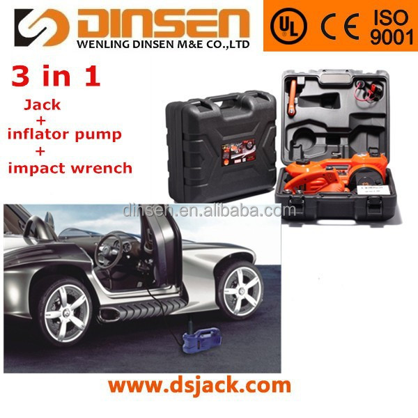 dc 12v impact wrench and jack kits