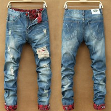 Wholesale Denim Branded Name Authentic Men Biker Funky Jeans With Stock Lots
