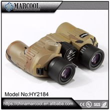 Rubber camouflage sightseeing binoculars , parts of binocular microscope, army binoculars