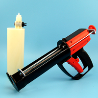300ml one-component sealant cartridge, plastic cartridge for caulking gun