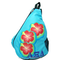 Sublimation printing custom backpack for cheer team /cheerleader with logo