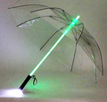 Promotional gifts Glow in the dark umbrella Custom LOGO umbrella LED Light up umbrella