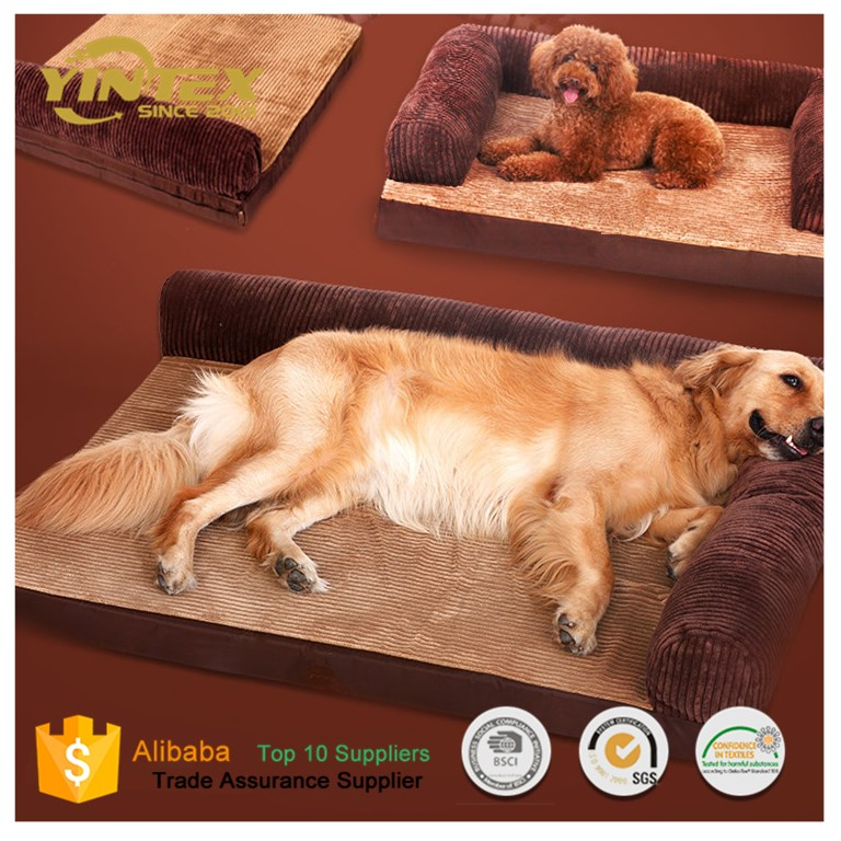 manufacturer wholesale soft warm pet beds dog bed cat bed large memory foam dog bed
