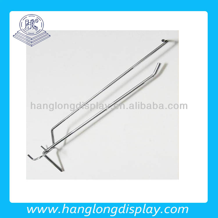 metal display hook,single peg hook with price tag