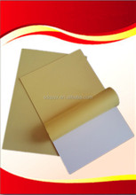 Manufacture photo album pvc sheet in White and Black color, with double sides water-based adhesive